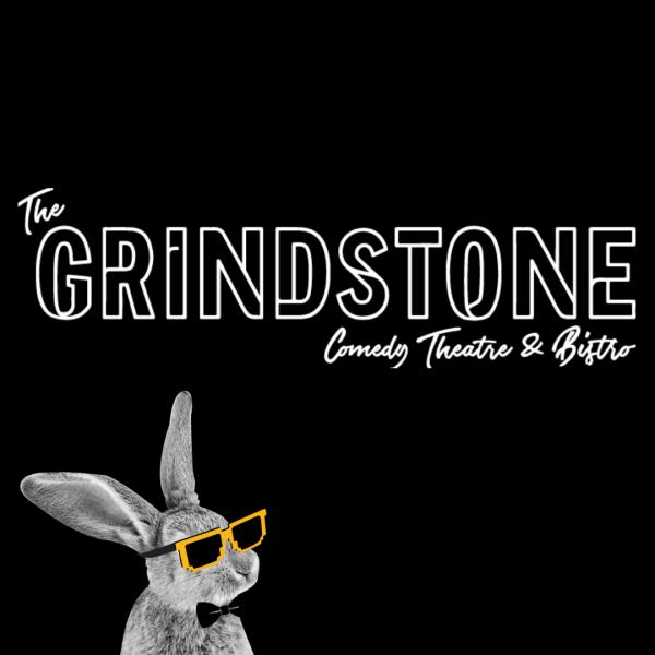 The Grindstone Comedy Theatre & Bar Logo