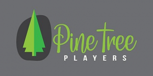 Pinetree Players Logo Graphic of Green Pine Tree