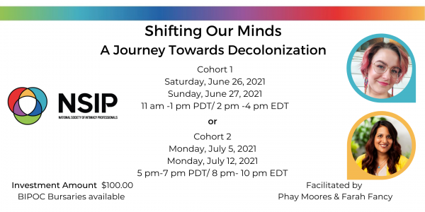 Shifting Our Minds-A Journey Towards Decolinization - National Society of Intimacy Professionals
