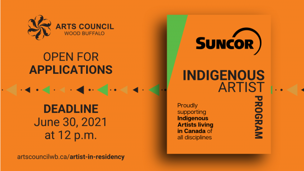 Orange Suncor Indigenous Artist Program - Proudly Supporting Indigenous Artist Living in Canada of All Diciplines